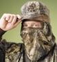 HS camo driekwart gelaats masker